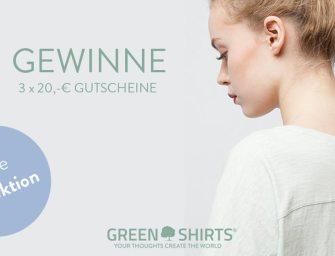 Green Shirts Sommer Kollektion Gewinnspiel