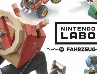 Nintendo Labo – Fahrzeug Set