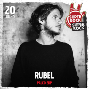 Rubel no Super Bock Super Rock