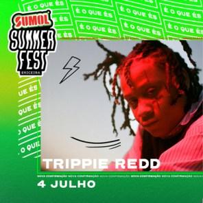 trippie redd no cartaz do sumol summer fest