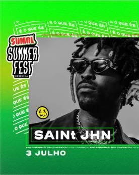 Saint JHN em Portugal no sumol summer fest 2020