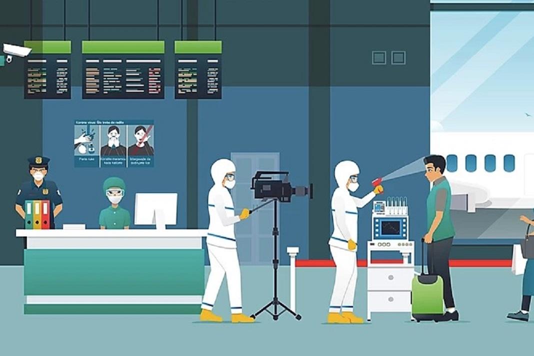 viajar e coronavirus