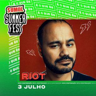 riot cartaz sumol summer fest