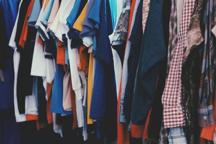 roupa em segunda mao
