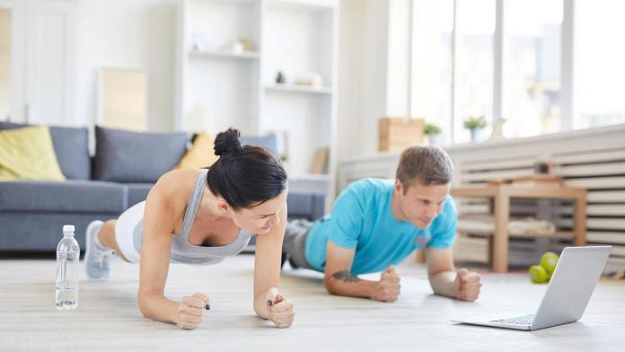 exercicio fisico em casa