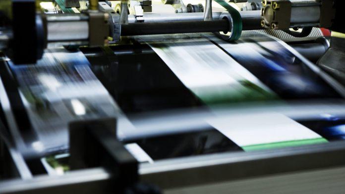 mercado de impressão profissional e industrial