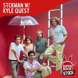 stckman e kyle west em lisboa