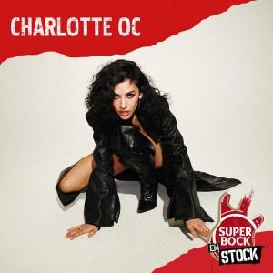 Charlotte oc no cartaz do super bock em stock 2021