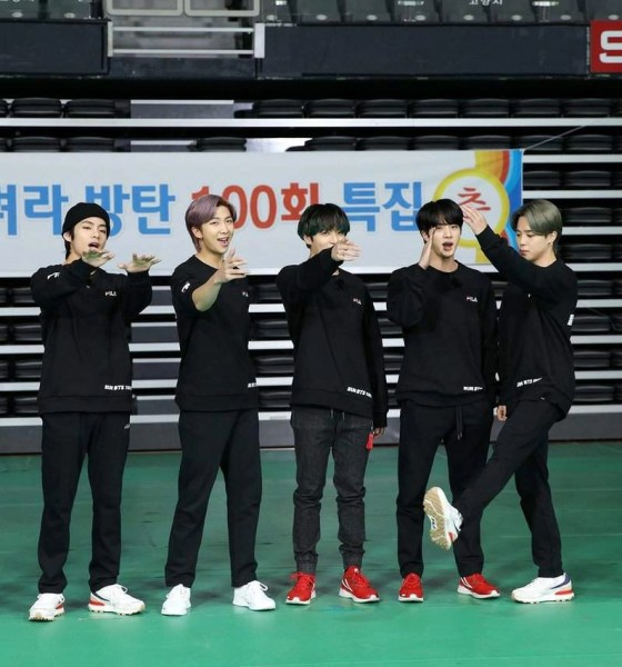 BTS Celebrates 100th Special Episode of 'Run BTS'