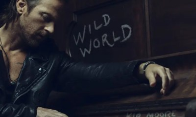"""KIP MOORE EMBODIES HIS INNER """"SOUTHPAW"""" IN NEW TRACK TAKEN FROM UPCOMING ALBUM WILD WORLD"""