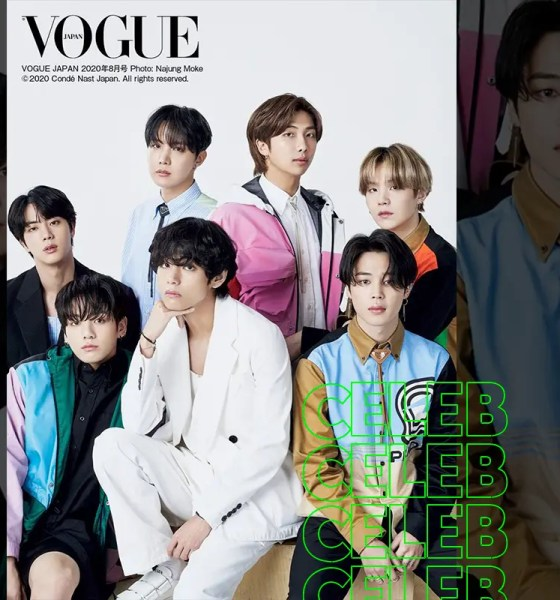 BTS V, 'Vogue Japan' Group Photo Shoot - 'Muse of Photographers'
