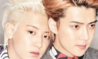EXO Sehun & Chanyeol Selected Cover Models for the August issue of GQ KOREA Magazine