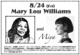 1597295 thum - A STORY OF JAZZ in 横浜 Mary Lou Williams