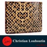 1599991 thum 1 - 18年春夏新作クリスチャンルブタンコピー Christian Louboutin loubiposh baby pouch レオパード レディースミニバッグ
