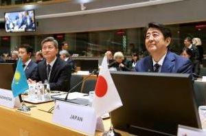 1020 03 1 - 若々しい安倍首相 アジア欧州会議に出席