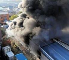 1128 05 1 - 中国・河北省張家口の化学工場で爆発 22人死亡