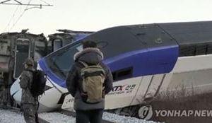 1209 01 1 - 韓国KTX 突貫工事の平昌オリンピック線で脱線事故 14人負傷