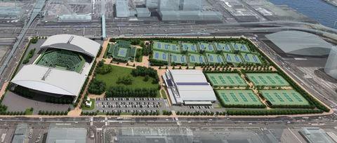 有明テニスの森公園のサムネイル画像