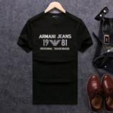 1615576 thum 1 - 大好評アルマーニジーンズ半袖TシャツARMANI JEANSクールネックプリントTシャツカットソー3色可選