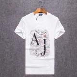 1617029 thum 1 - 17春夏 クールビズ 雑誌掲載アイテム 3色可選 ARMANI アルマーニ 半袖Tシャツ