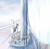 0517 05 1 - 夢洲駅タワービルはかっこいい そのままカジノ施設に使えそう