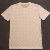 1618334 thum 1 - FENDI希少なお品フェンディ スーパー コピー柔らかく伸縮性のある綿のジャージーメンズホワイトクルーネックTシャツ