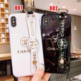 1624693 thum 1 - 可愛い シャネル iphoneXS ケース 手持ちベルト付き iphonexr/8plus カバー キャラクター iphoneXs maxスマホケース iphone7/6s plus保護カバー スタンド機能 激安 通販