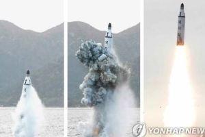 1002 09 1 - 北 SLBM中距離弾道ミサイル発射 防衛省失態 2発を1発に修正