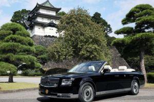 1007 08 1 - 天皇皇后両陛下 即位祝賀ご搭乗のオープンカー トヨタ・センチュリーの特別改造車