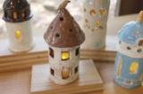 1629178 thum - 藤野芸術の家 クリスマス限定「手びねりでつくる陶器のおうちランプor星のお皿の絵付け」