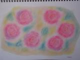 1633725 thum - ゆるりと3色パステル画教室で描く、薔薇のガーデン風アレンジ②