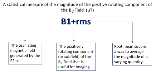Figure 1. Explanation of B1+rms