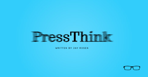 Press Think logo card