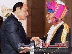 الرئيس عبدالفتاح السيسي والسلطان قابوس بن سعيد 102