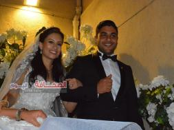 بالصور .. وزراء وسفراء فى حفل زفاف أمين واصف ومادونا نسيم
