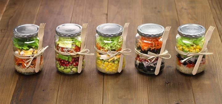 Meals in a jar.