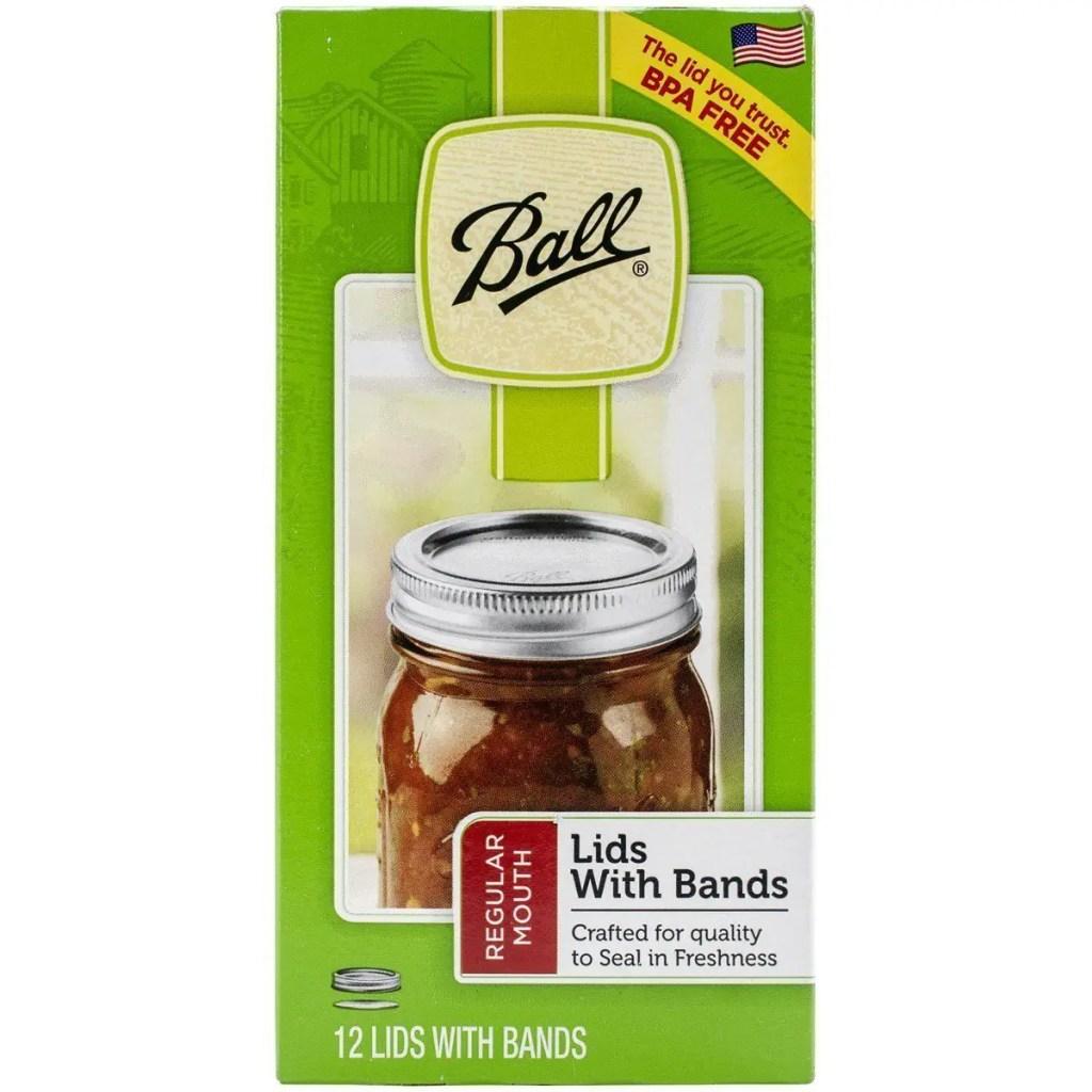 Ball Glass Mason Jar