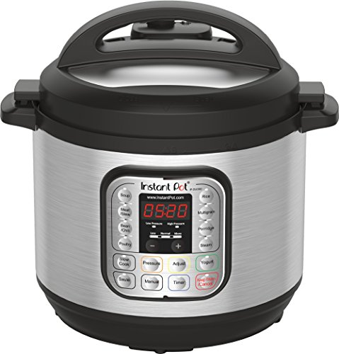 Instant Pot IP DUO80 7 in 1 Programmable Electric Pressure Cooker 8 QT 2017