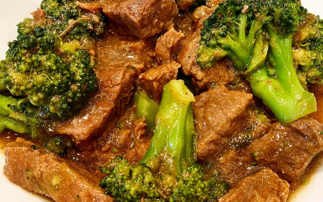 Instant Pot Best Beef & Broccoli