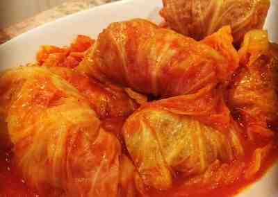 Instant Pot Grandma Lil's Stuffed Cabbage