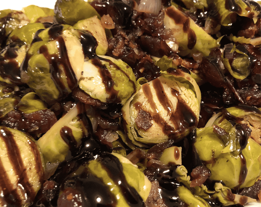 Instant Pot Maple Balsamic Brussels Sprouts