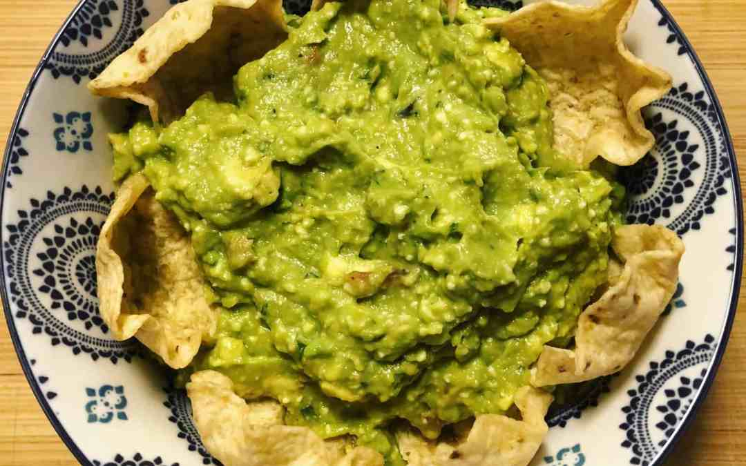 Roasted Garlic Guacamole
