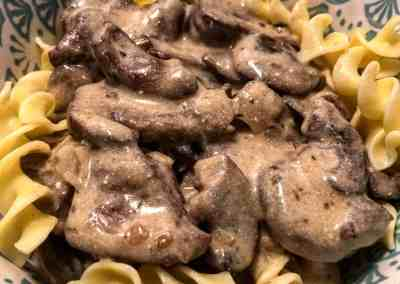 Instant Pot Best Ever Beef Stroganoff