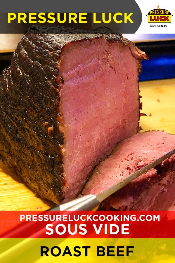 sous vide roast beef french dip pressure luck cooking
