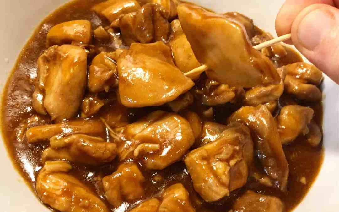 Instant Pot Mall Food Court Bourbon Chicken