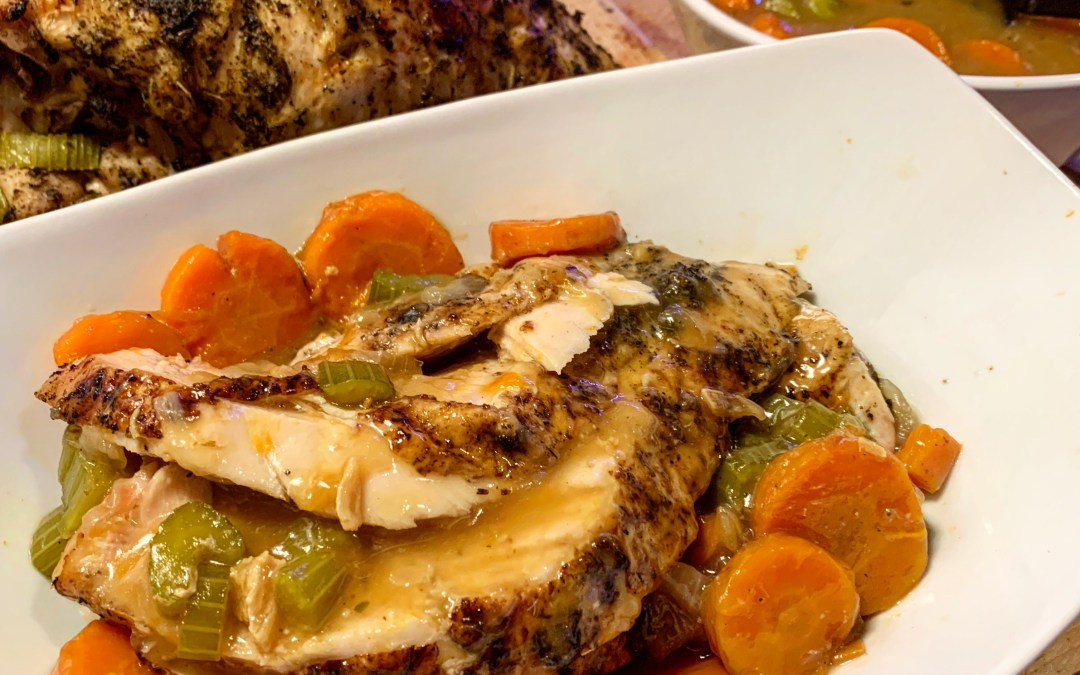 Ninja Foodi or Instant Pot Turkey Breast + Gravy