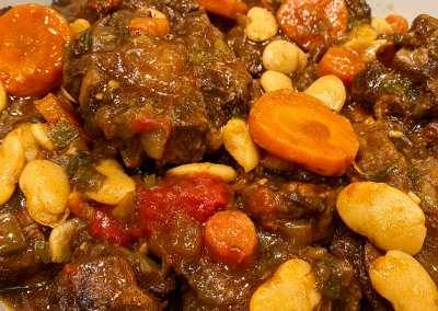 Instant Pot Jamaican Oxtail Stew