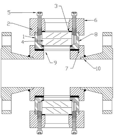 Model I Safesite Sight Flow Indicator Assembly