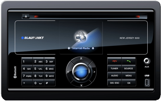 internet radio in your car blaupunked image