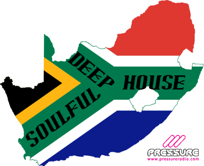 south africa deep soulful house music map image